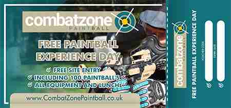 free paintball experience voucher lincoln