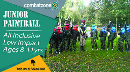Junior Paintball Combat zone
