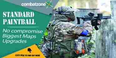 Lincolnshire paintballing combat zone
